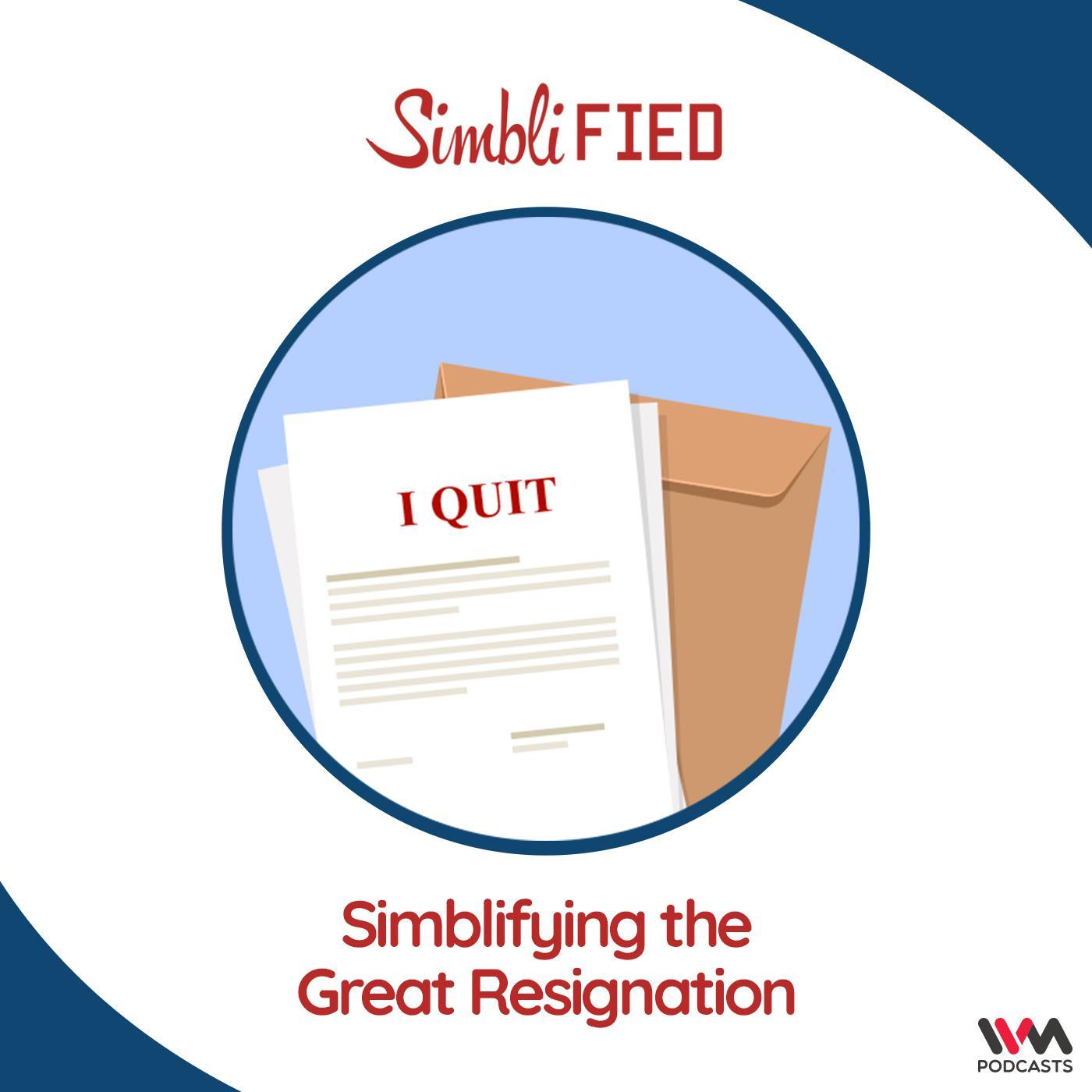 Simblifying the Great Resignation