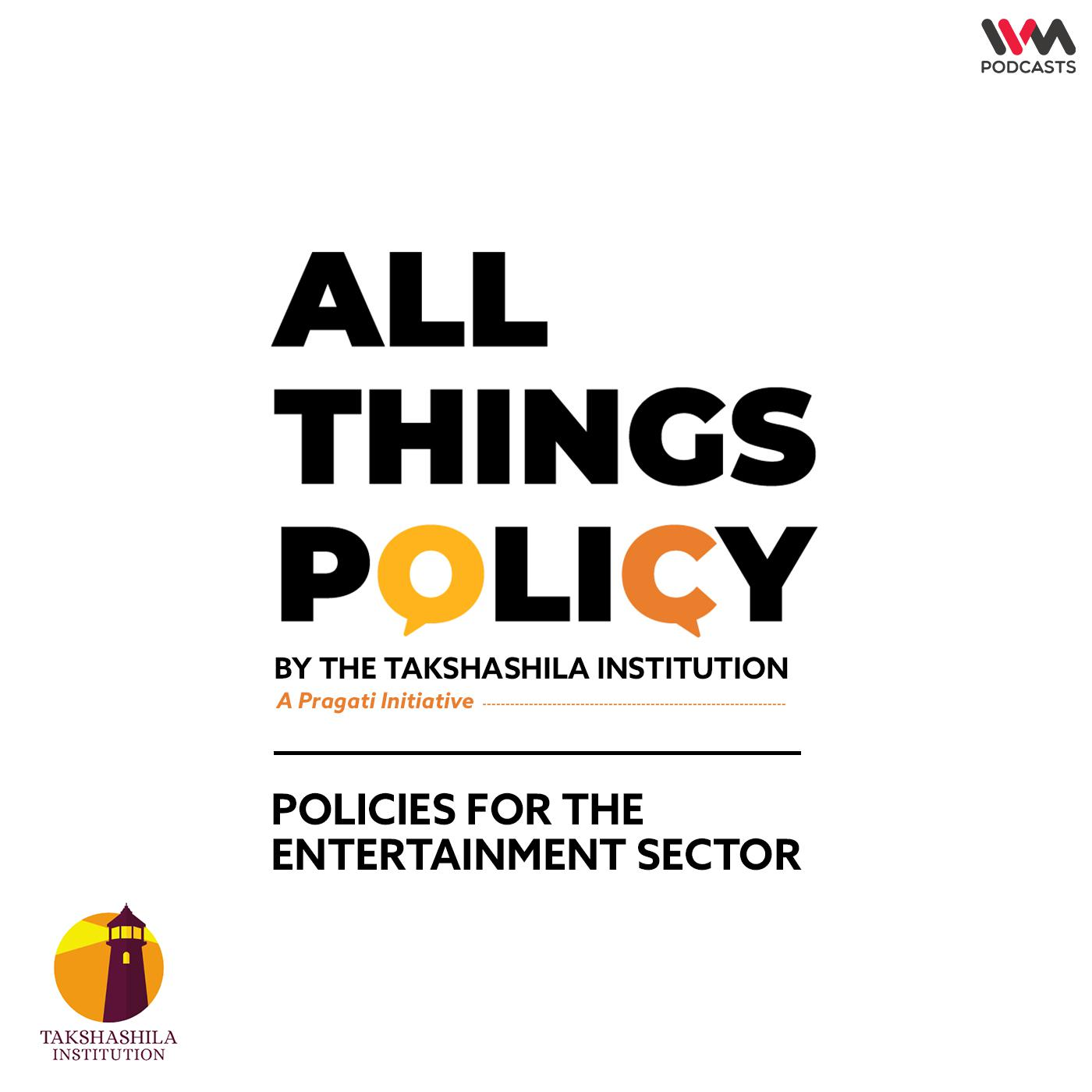 Ep. 609: Policies for the Entertainment Sector