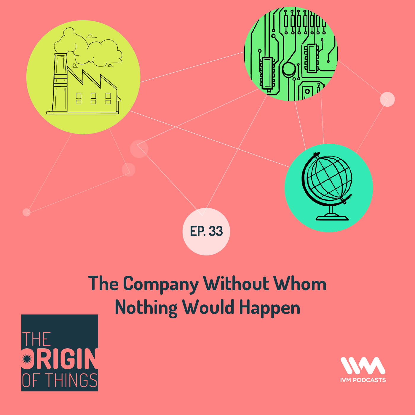 Ep. 33: The Company Without Whom Nothing Would Happen