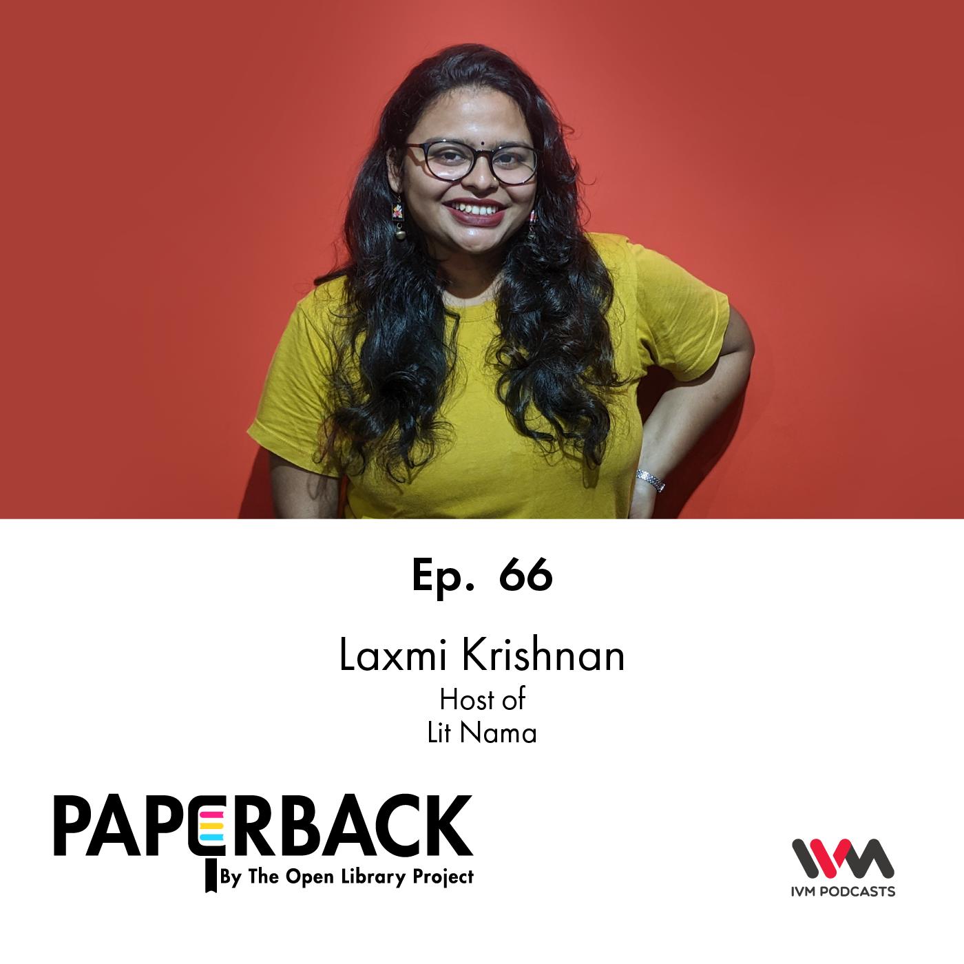 Ep. 66: Laxmi Krishnan