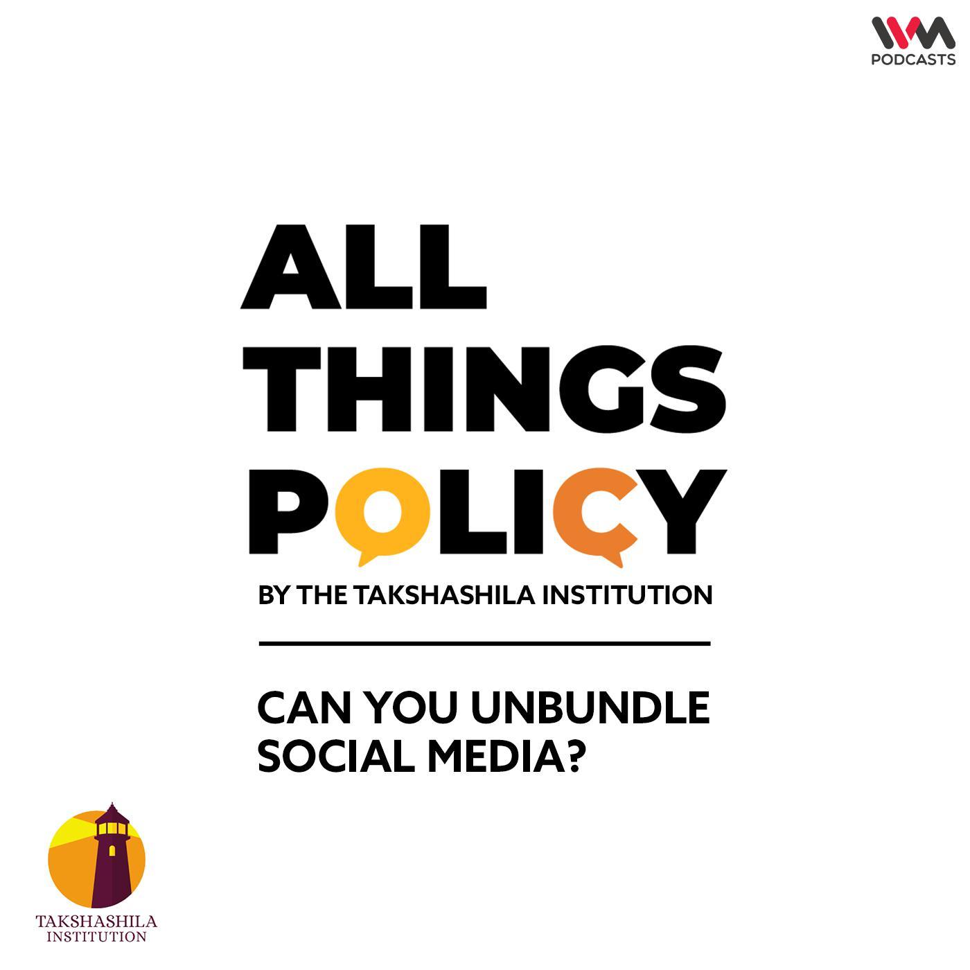 Ep. 601: Can You Unbundle Social Media?