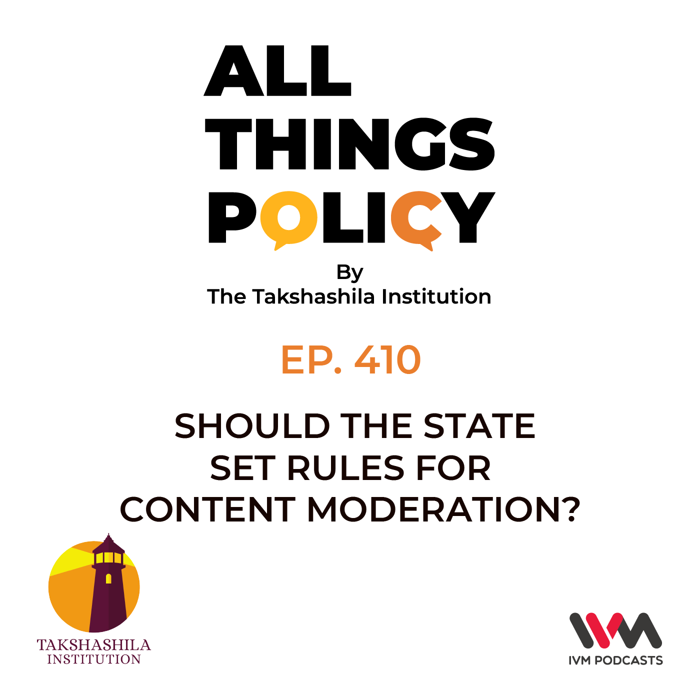 Ep. 410: Should the State Set Rules for Content Moderation?