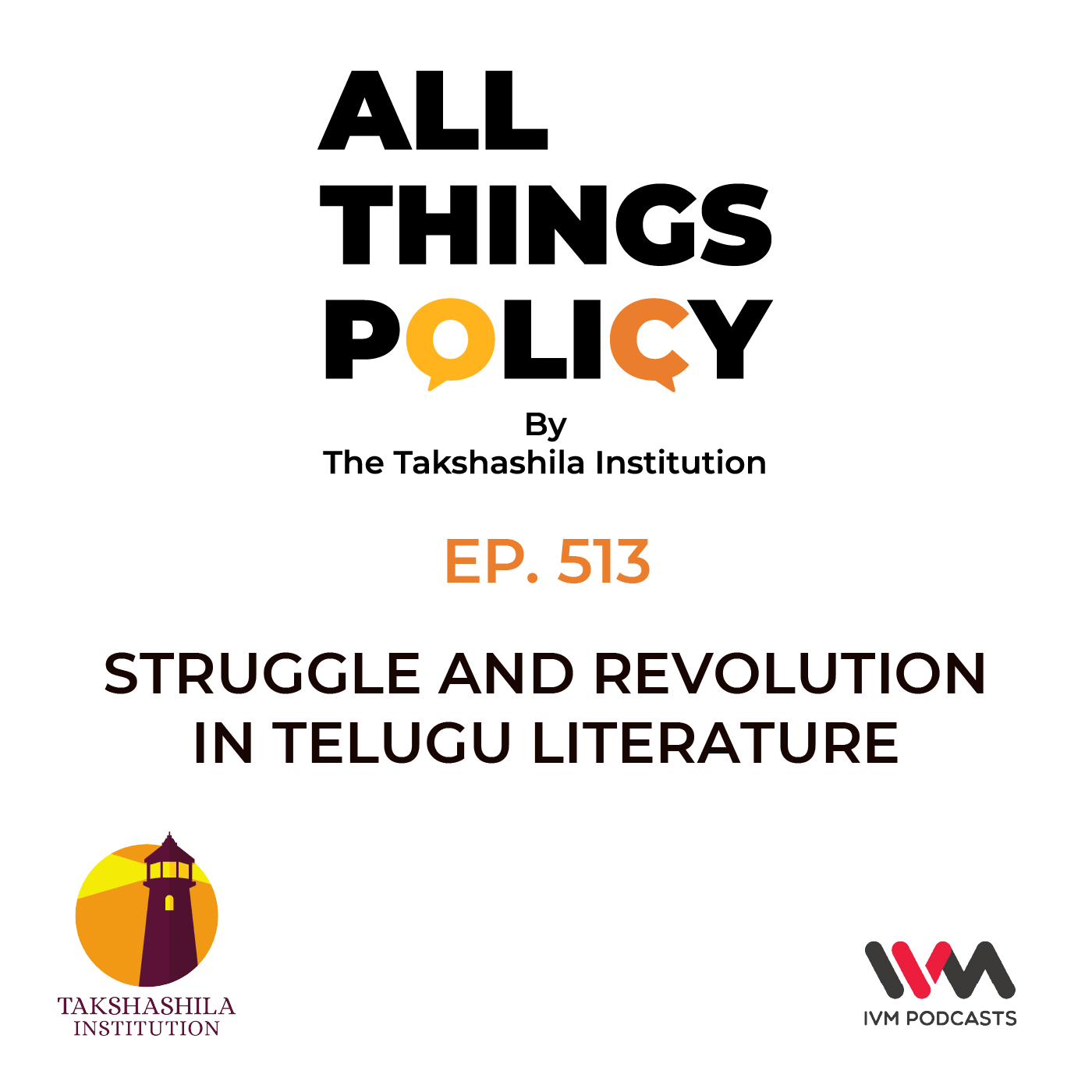 Ep. 513: Struggle and Revolution in Telugu Literature