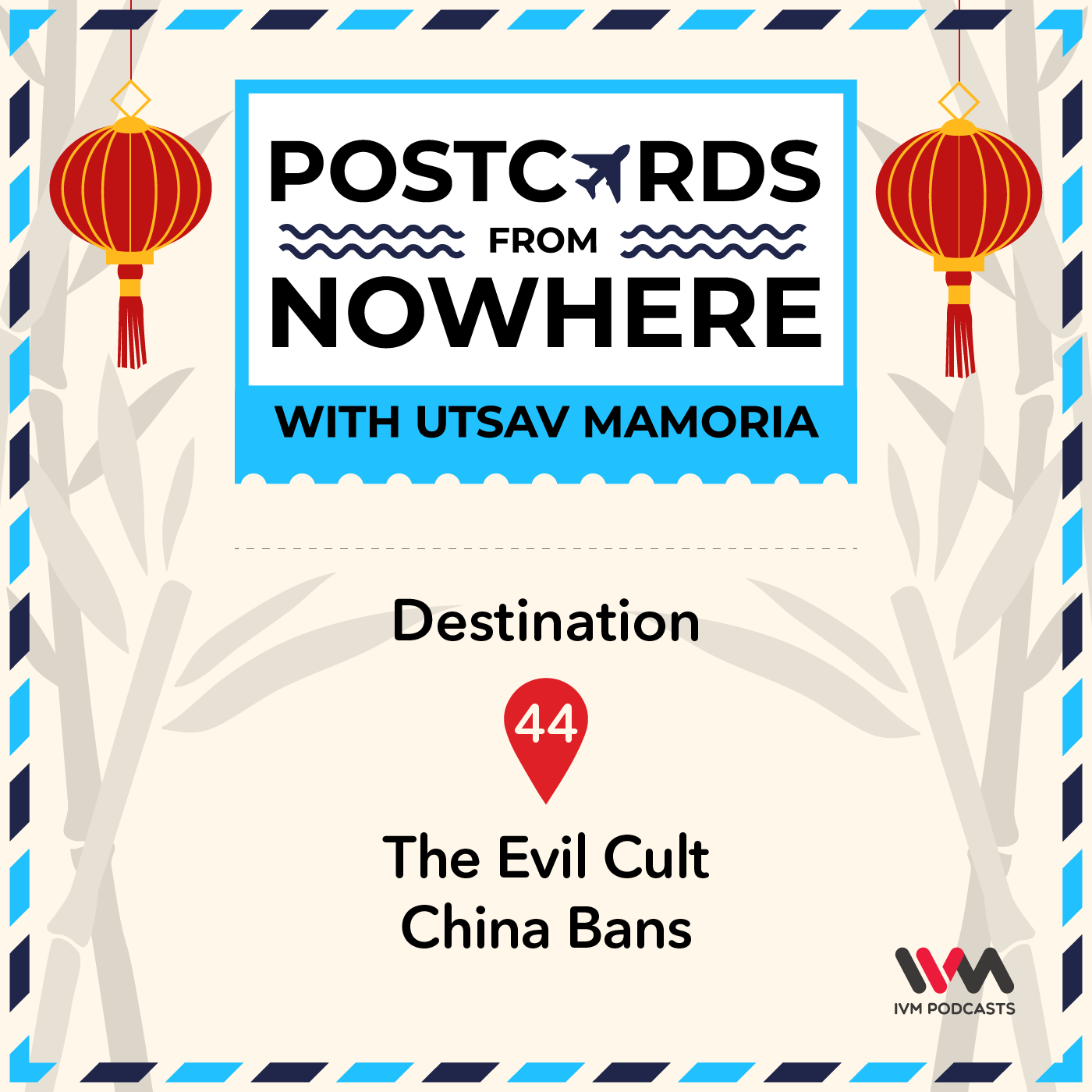 Ep. 44: The Evil Cult China Bans