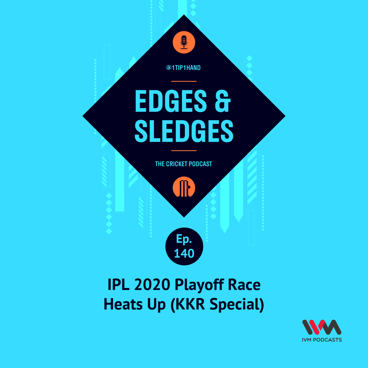 Ep. 140: IPL 2020 Playoff Race Heats Up (KKR Special)
